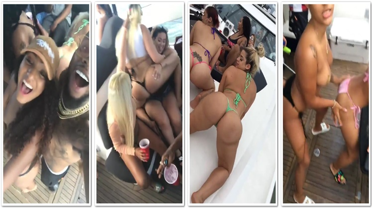 Tory Lanez Had One Lit Azz Yacht Party In Miami