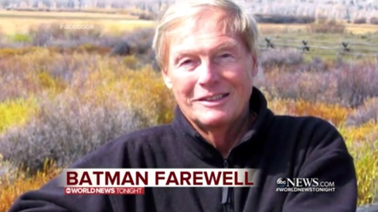 Adam West, Known For Playing The 'Caped Crusader' Has Died