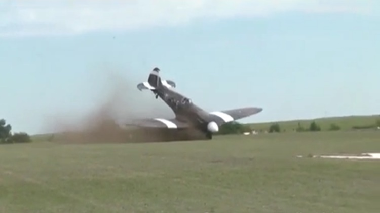 Plane Nosedives And Crashes Before Takeoff During France Airshow