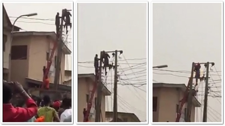 Man Gets Electrocuted Trying to Save Another Man
