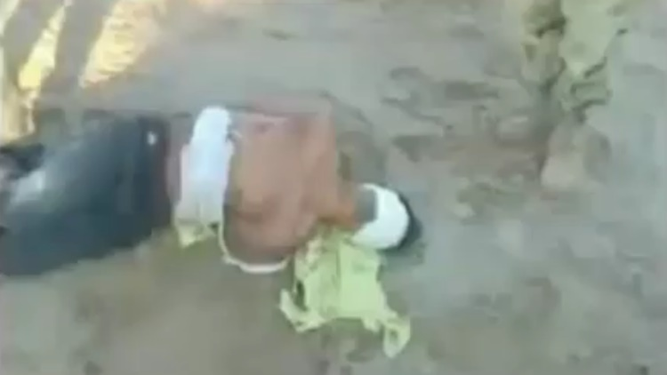 Prisoner Is Executed By Nepalese Military Soldier