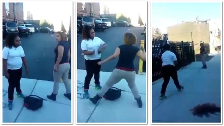 Middle School Girls Fight After School