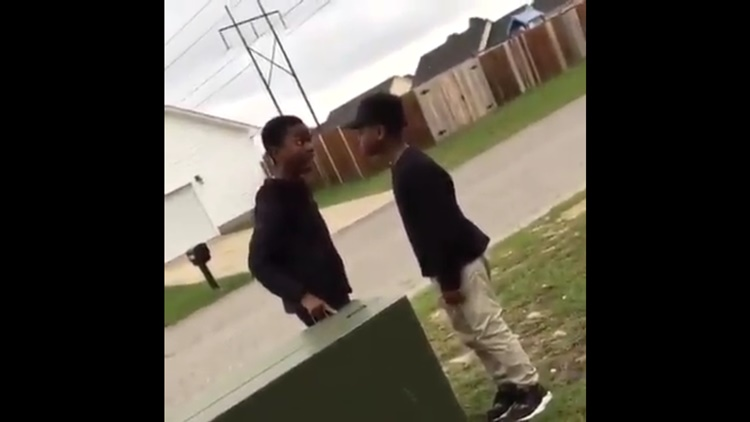 He'd Had Enough: Kid Got Mad And Walks Away From Argument