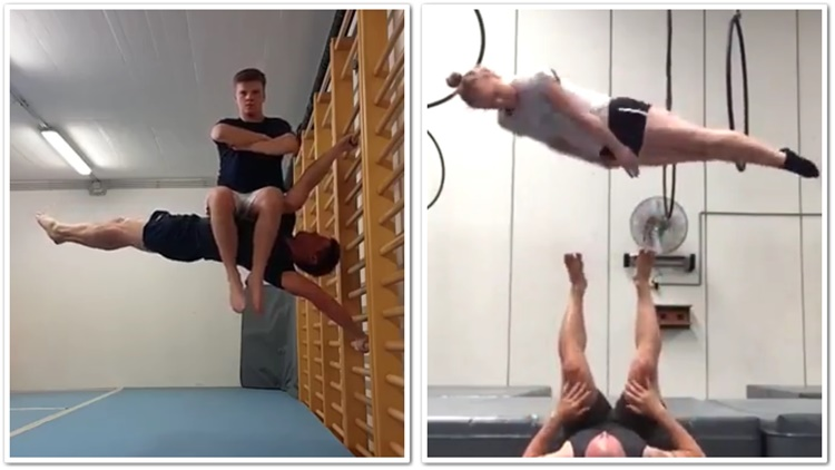 People Doing Impossible Things With Their Bodies