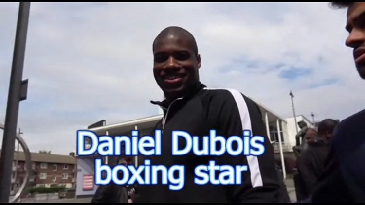 Daniel Dubois Says He Dropped Joshua in Sparring